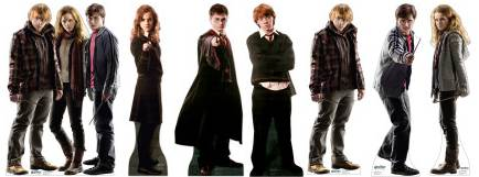 harry potter character cardboard cut outs