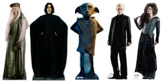 harry potter cardboard stand ups and mini