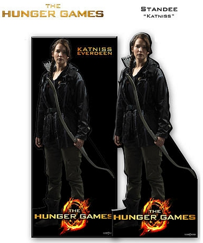 hunger games katniss cardboard cutout