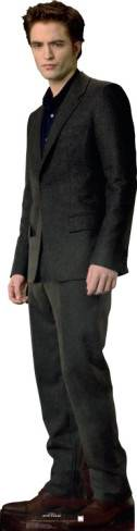 Robert Pattinson Cardboard Cutout on Robert Pattinson As Edward Cullen Cardboard Standup    Cardboard