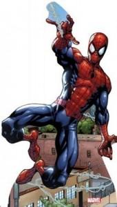 Spider-man cardboard standup poster