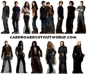 all twilight cardboard standee posters