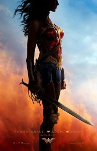 wonder woman profile poster